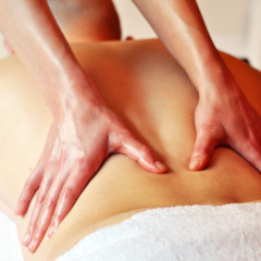 Swedish and holistic massage